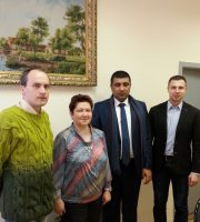 университет с ознакомительным визитом посетил представитель Индии и Пакистана, Сайед Али Варис Шах
